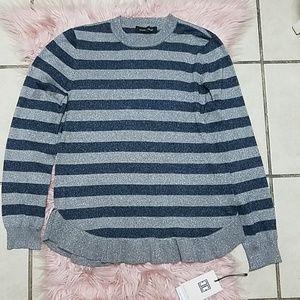 Ivanka Trump blue and grey sweater. Size M. NWT